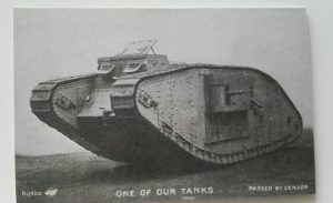 Postkarte: One of our Tank